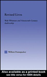 Ebook in inglese Revised Lives Pannapacker, William