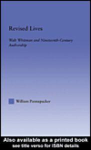 Foto Cover di Revised Lives, Ebook inglese di William Pannapacker, edito da
