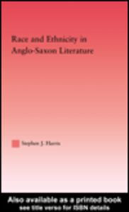 Ebook in inglese Race and Ethnicity in Anglo-Saxon Literature Harris, Stephen J.