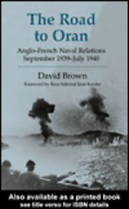 Ebook in inglese The Road to Oran Brown, David