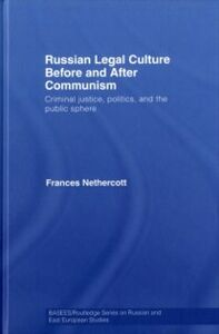 Ebook in inglese Russian Legal Culture Before and After Communism Nethercott, Frances