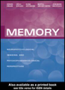 Ebook in inglese Memory Antoniadis, Elena , Emilien, Gérard , Maloteaux, Jean-Marie , Van der Linden, Martial