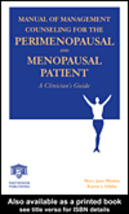 Ebook in inglese Manual of Management Counseling for the Perimenopausal and Menopausal Patient
