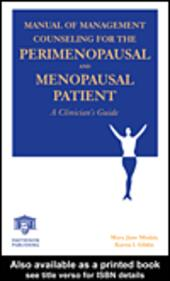Manual of Management Counseling for the Perimenopausal and Menopausal Patient