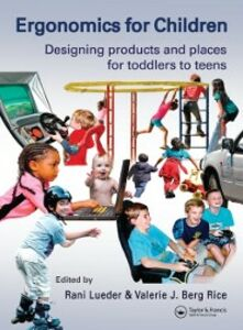 Foto Cover di Ergonomics for Children, Ebook inglese di  edito da CRC Press