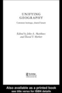 Foto Cover di Unifying Geography, Ebook inglese di  edito da Taylor and Francis