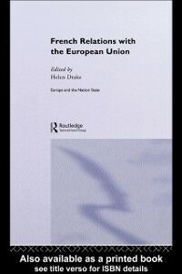 Ebook in inglese French Relations with the European Union