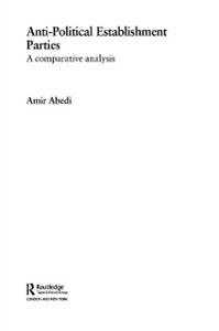 Ebook in inglese Anti-Political Establishment Parties -, -