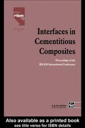 Interfaces in Cementitious Composites