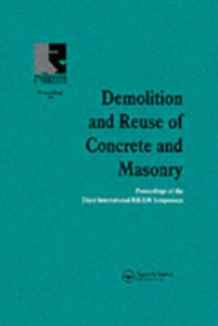 Ebook in inglese Demolition and Reuse of Concrete and Masonry -, -