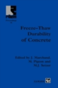 Ebook in inglese Freeze-Thaw Durability of Concrete -, -