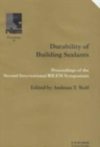 Foto Cover di Durability of Building Sealants, Ebook inglese di  edito da Taylor and Francis