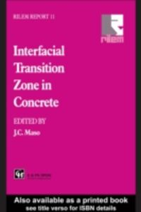 Ebook in inglese Interfacial Transition Zone in Concrete