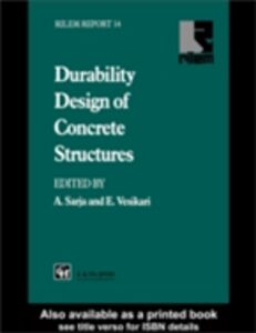 Ebook in inglese Durability Design of Concrete Structures -, -