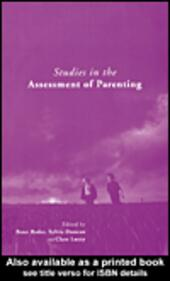 Studies in the Assessment of Parenting