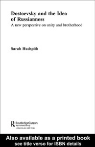 Ebook in inglese Dostoevsky and The Idea of Russianness Hudspith, Sarah