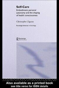 Foto Cover di Self-care, Ebook inglese di Christopher Ziguras, edito da Taylor and Francis