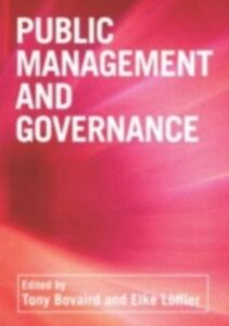 Ebook in inglese Public Management and Governance -, -