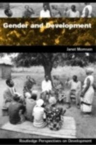 Ebook in inglese Gender and Development Momsen, Janet