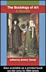 Ebook in inglese Sociology of Art