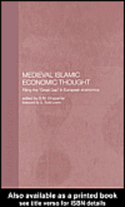 Ebook in inglese Medieval Islamic Economic Thought Ghazanfar, S.M.