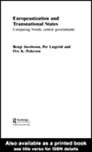 Ebook in inglese Europeanization and Transnational States Jacobsson, Bengt , Lægreid, Per , Pedersen, Ove K.