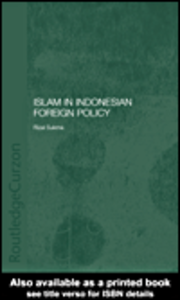 Ebook in inglese Islam in Indonesian Foreign Policy Sukma, Rizal