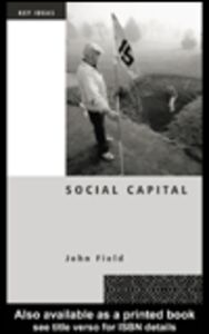 Foto Cover di Social Capital, Ebook inglese di John Field, edito da