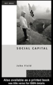 Ebook in inglese Social Capital Field, John