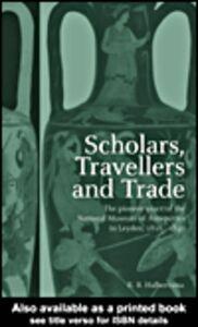 Ebook in inglese Scholars, Travellers and Trade Halbertsma, R. B.