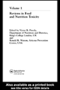 Foto Cover di Reviews in Food and Nutrition Toxicity, Ebook inglese di Ronald R. Watson,Victor R. Preedy, edito da