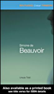 Ebook in inglese Simone de Beauvoir Tidd, Ursula