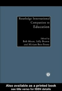 Ebook in inglese Routledge International Companion to Education -, -