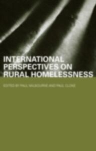 Ebook in inglese International Perspectives on Rural Homelessness
