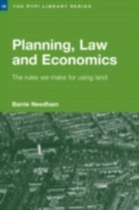 Ebook in inglese Planning, Law and Economics Needham, Barrie