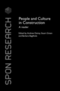 Ebook in inglese People and Culture in Construction -, -