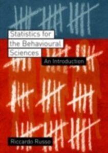 Foto Cover di Statistics for the Behavioural Sciences, Ebook inglese di Riccardo Russo, edito da Taylor and Francis