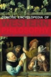 Concise Encyclopedia of Western Philosophy