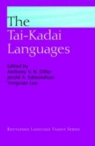 Foto Cover di Tai-Kadai Languages, Ebook inglese di  edito da Taylor and Francis