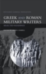 Foto Cover di Greek and Roman Military Writers, Ebook inglese di Brian Campbell, edito da Taylor and Francis
