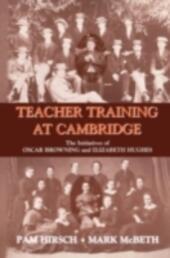 Teacher Training at Cambridge