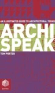 Ebook in inglese Archispeak Porter, Tom