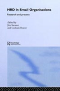 Ebook in inglese Human Resource Development in Small Organisations -, -