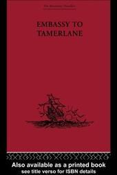 Embassy to Tamerlane