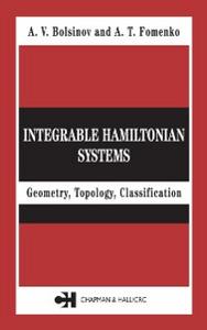Ebook in inglese Integrable Hamiltonian Systems Bolsinov, A.V. , Fomenko, A.T.