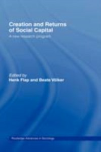 Ebook in inglese Creation and Returns of Social Capital -, -