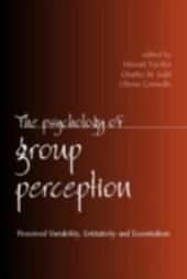 Psychology of Group Perception