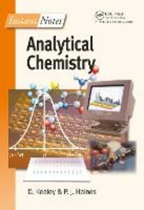 Ebook in inglese Instant Notes in Analytical Chemistry Haines, P J , Kealey, David