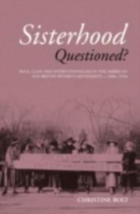 Ebook in inglese Sisterhood Questioned Bolt, Christine