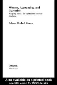 Ebook in inglese Women, Accounting and Narrative Connor, Rebecca E.
